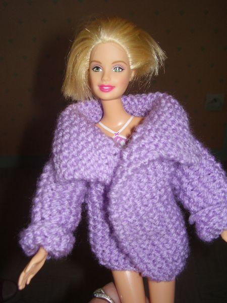 patron tricot gratuit barbie